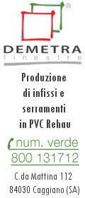 Demetra Finestre - Produzione Vendita Infissi Serramenti PVC Salerno e provincia